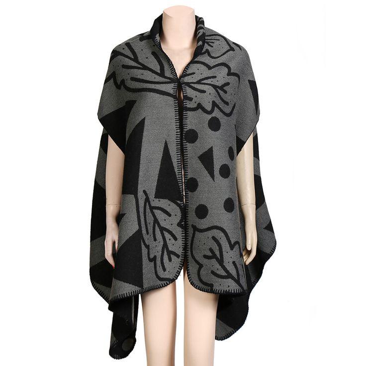 100% acryl vrouwen poncho sjaal nieuwe ontwerp kasjmier wol sjaal deken pashmina sjaal dikke warme sjaals voor lady uitloper lente in 100 % acryl vrouwen poncho sjaal nieuwe ontwerp kasjmier sjaal pashmina sjaal dikke wollen deken warm sjaals voor dame l van sjaals op AliExpress.com   Alibaba Groep