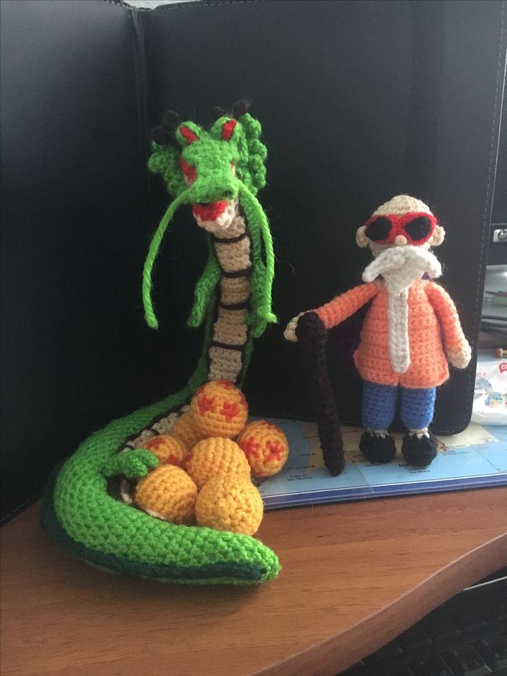 8 besten Dragon ball crochet Bilder auf Pinterest | Dragon ball und ...
