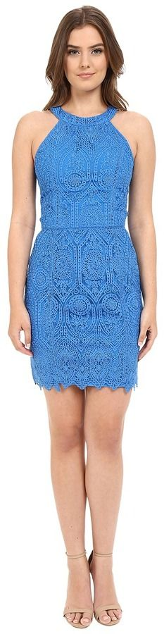 Adelyn Rae Lace Sheath Sleeveless Dress