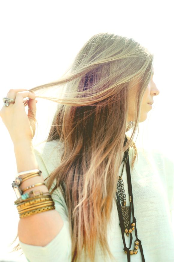 The Ultimate All-Natural Hair Lightening Spray | Free People Blog #freepeople