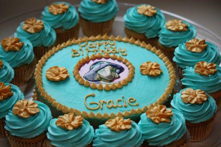 Princess Jasmine from Alladin - Cake & cupcakes