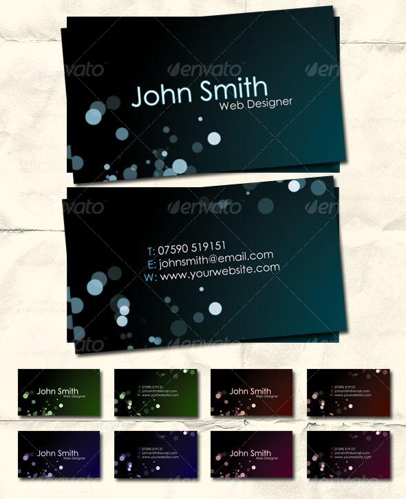 Style in Dark - Premium Business Card