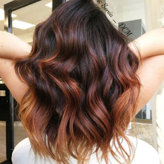 Chestnut Hair Color Ideas That Have Us Ready For Fall | Chestnut hair color, Chestnut hair, Balayage hair copper