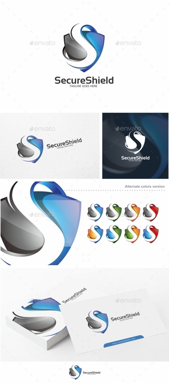 Shield / S Letter  - Logo Design Template Vector #logotype Download it here: http://graphicriver.net/item/shield-s-letter-logo-template/10592069?s_rank=81?ref=nexion