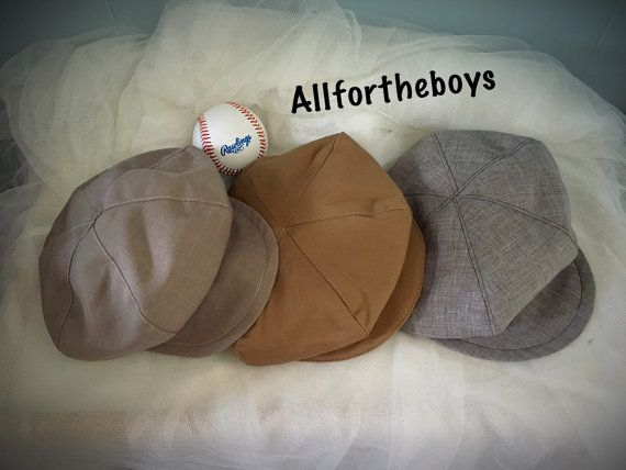 NEWBORN BABY Newsboy hat Newspaper boy hat Newborn size