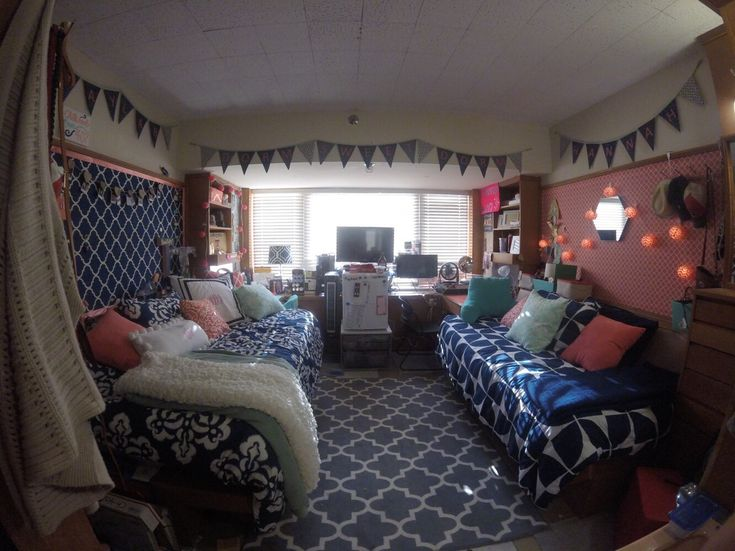 Texas Tech dorm room - chitwood