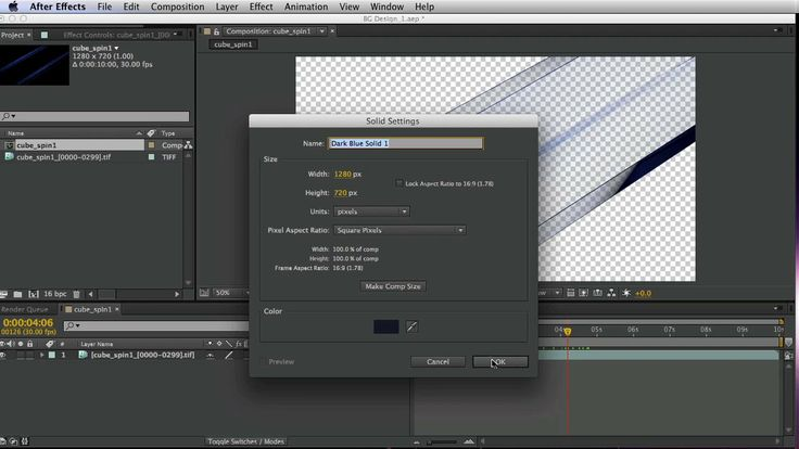 how to create motion backgrounds in after effects