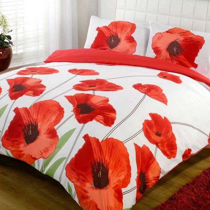 Captivating Our Great Contemporary Duvet Set Is Light Weight And Silky To Touch. These  Products Have A White Front And Red Reverse When A Duvet Is Inside. Home Design Ideas