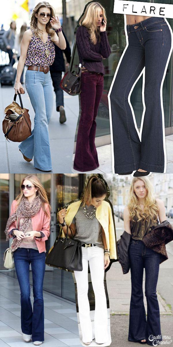 Jeans Flare | Calça Flare | Flare denim pants | http://cademeuchapeu.com