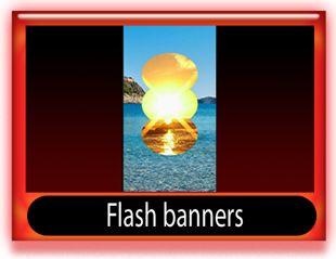 Flash banner skyscraper