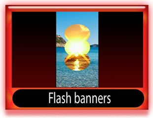Flash banner skyscraper