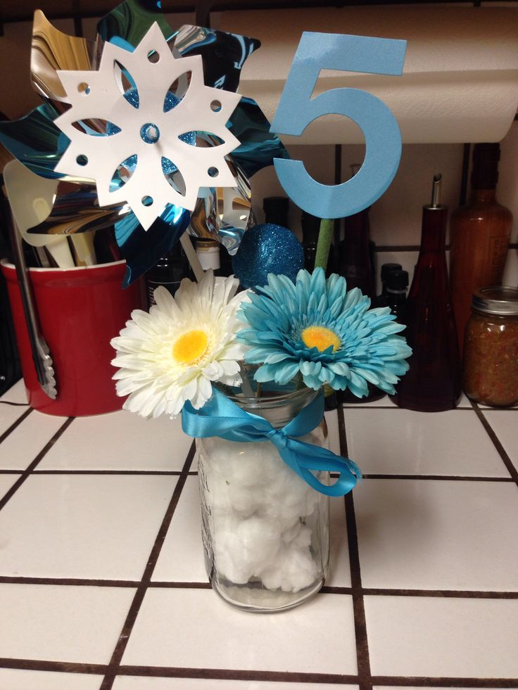 Disney Frozen Theme Diy Decorations Or Table