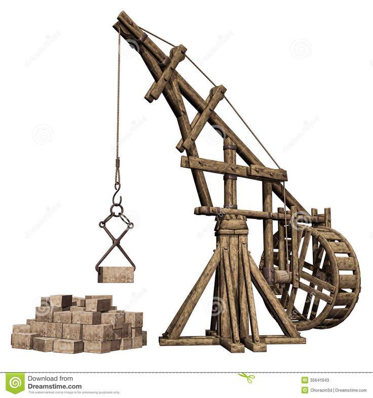 ancient harbor crane - Google Search