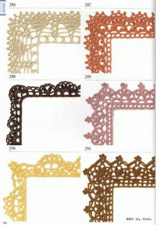 179 best Kvačkane obrobe / Crochet edgins images on Pinterest ...