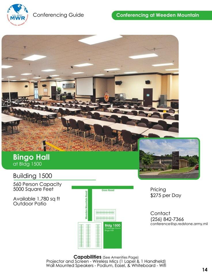 Weeden Mountain - Bingo Hall