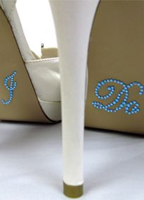 with your shoes and create great photo opportunities with our bling I