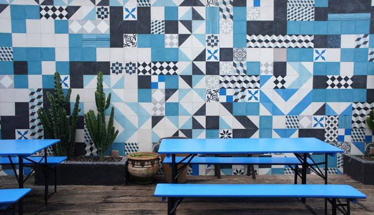 azulejos estampados | patterned tiles #decor #tile #pattern
