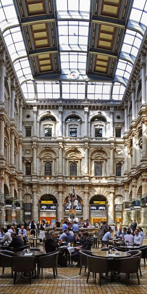Royal Exhange Interior, London