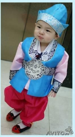 Купить корейский костюм для ребенка