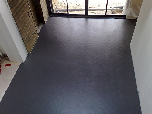 1000 id es sur le th me peinture effet beton sur pinterest peinture a effet cloture en for Peinture sol effet beton