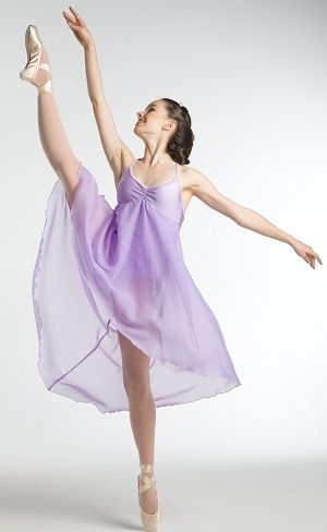 Lilac beauty of the lake would be great for a dance like this.