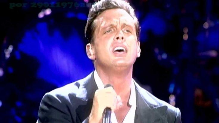"""Luis Miguel-Romances Popurri en vivo-Medley-Full Hd Nobody says """"Voy"""" like Luis Miguel"""