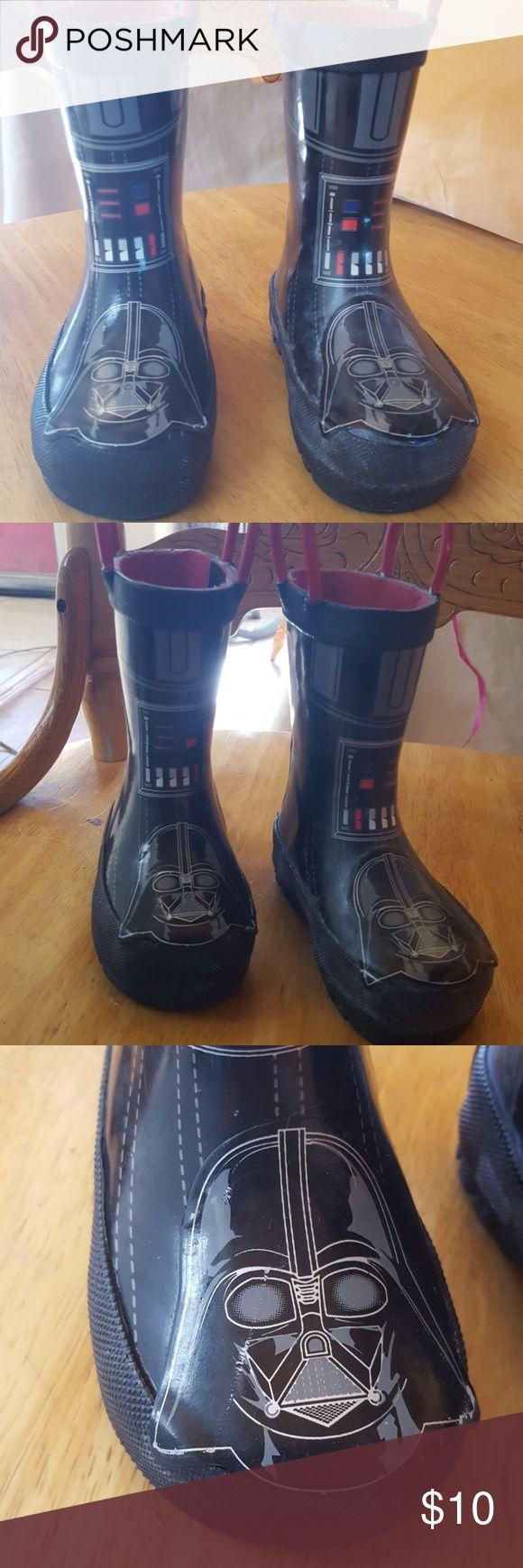 Western Chief starwars  rain boots Western Chief starwars rain boots  in great condition for the little tike in your life Western Chief starwars Shoes Rain & Snow Boots