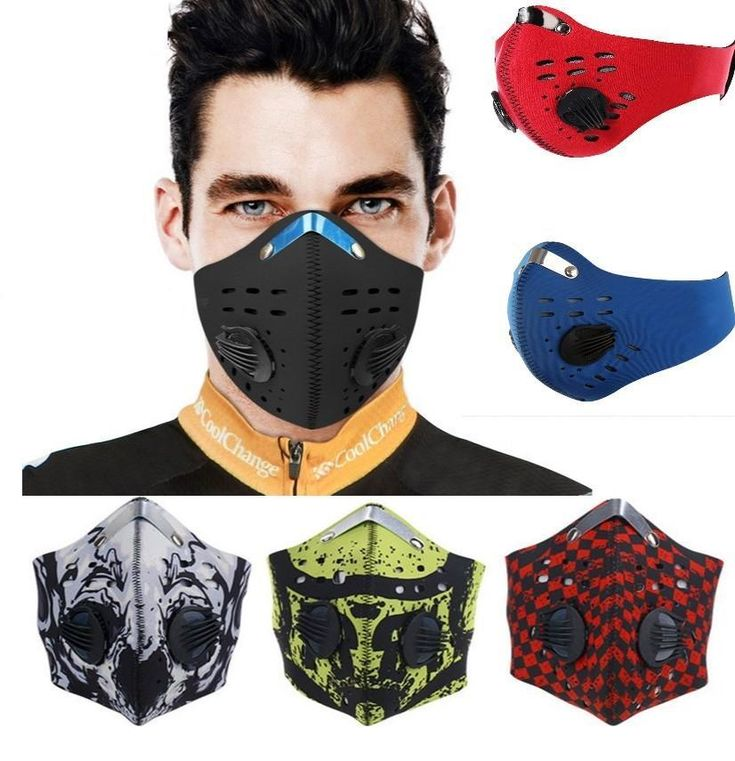 Face Mask for Air Pollution Cold Weather Motorcycle Bikers Running – StabilityPro™
