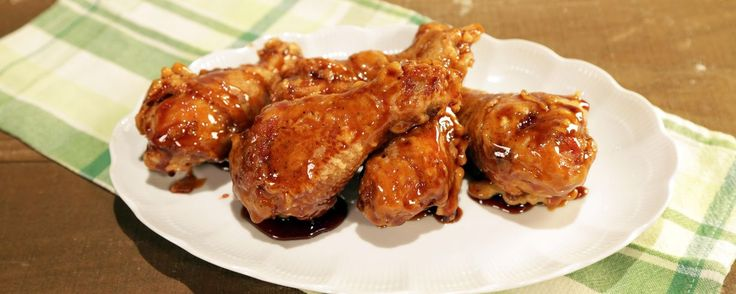 Fried Chicken with Asian Caramel Sauce Recipe | The Chew - ABC.com Use rice flour and Soda water like show did!