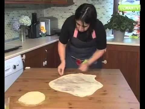 Kol böreği için hamur nasıl açılır & Kolay Yemek Tarifleri - YouTube