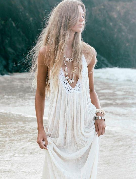Cet été, on use et abuse des longues robes bohèmes ! (robe White Bohemian)