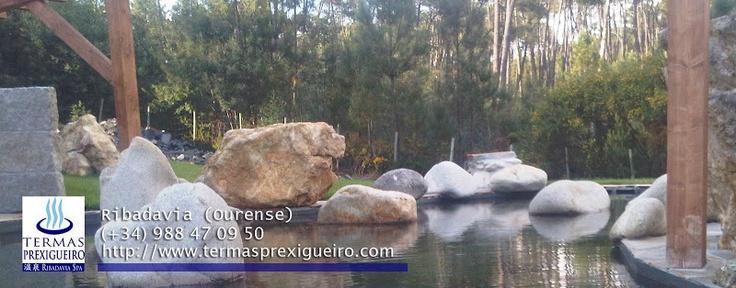Termas Prexigueiro, Ribadavia #termalismo #hotspring