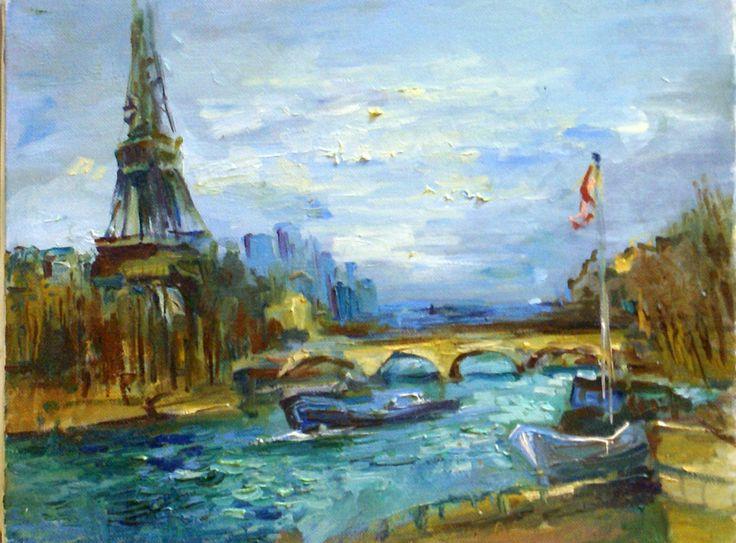 Paris, Tour Eiffel, Seine, Bateaux mouche, péniches, Hiver, Automne, après-midi, balades ...