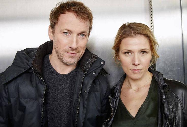 """Das neue """"Tatort""""-Duo: Wotan Wilke Möhring und Franziska Weisz."""