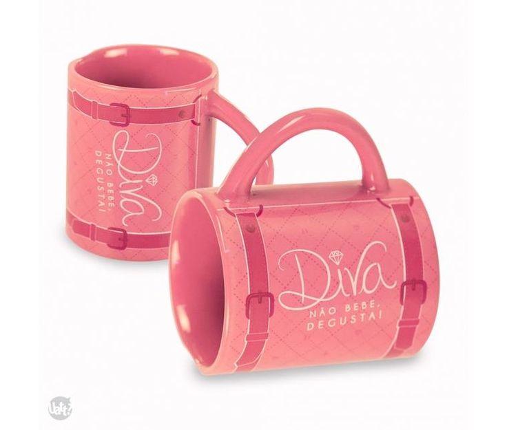 Caneca Diva - Comprar em LY Presentes Criativos