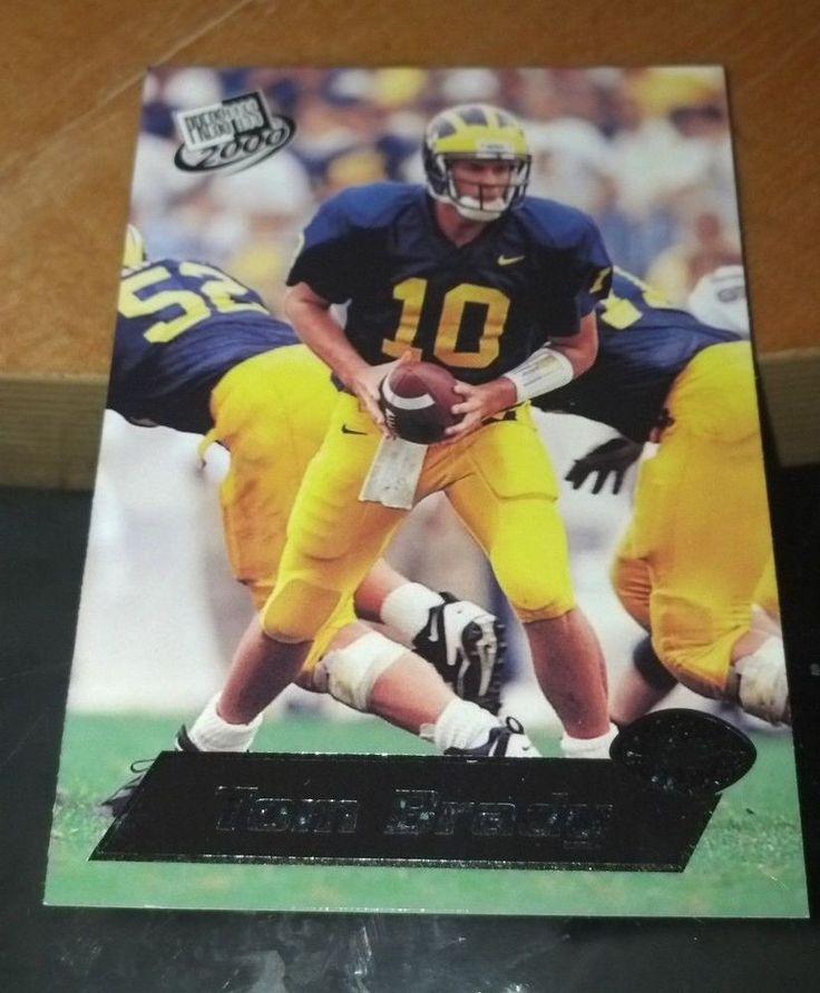 2000 Press Pass #37 Tom Brady Team: New England Patriots #NewEnglandPatriots
