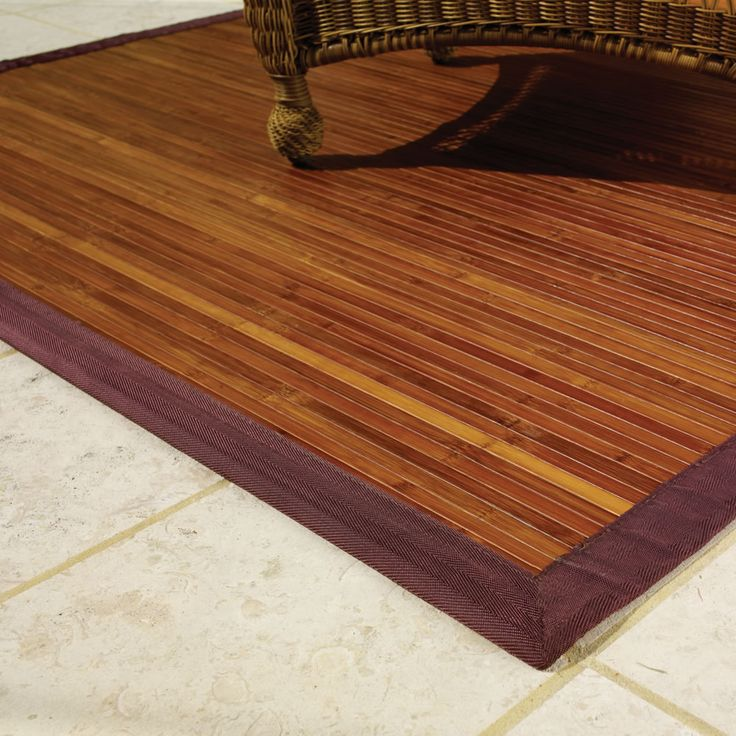 Bamboo Rugs Come In A Variety Of Colors Light Natural