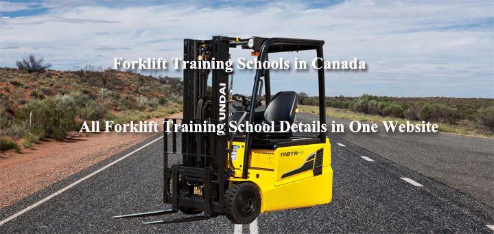 Forklift Training Schools web site provides data regarding