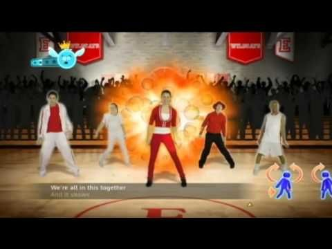 Just Dance: Disney Party - We're All in This Together [Full Song] - YouTube