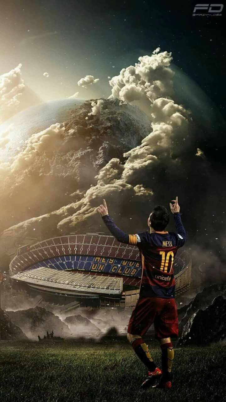 "Lionel Messi (Barcelona ""Mes Que Un Club"")"