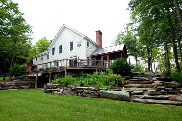 11 best plantation cottage images on pinterest house for Vermont farmhouse plans