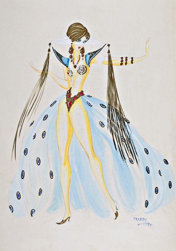 Freddy Wittop Harem Girl design, late 1930s