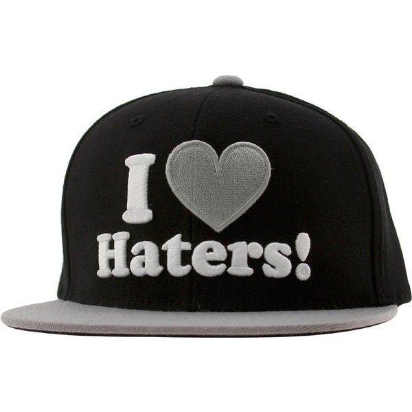 DGK Haters Snapback Cap (black grey)