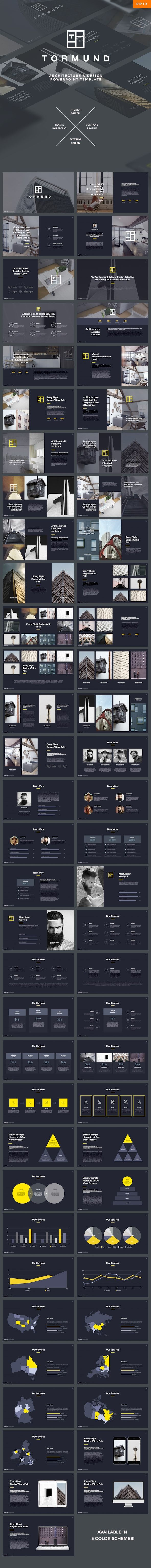 Thormund  Design & Portfolio Powerpoint Template — Powerpoint PPTX #architecture #1920x1080 • Download ➝ https://graphicriver.net/item/thormund-design-portfolio-powerpoint-template/19387581?ref=pxcr