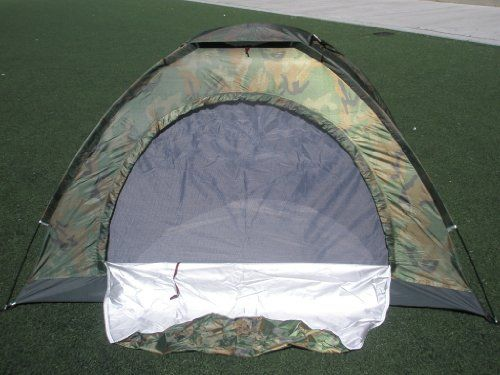 Camouflage Camping Tent for 2 Person or 3 Person Tent 3tent *** To view further for this item, visit the image link.