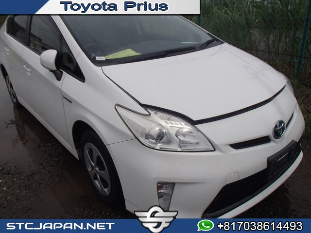 Toyota Prius Hybrid Ready For Shipment To Import A Car From Japan