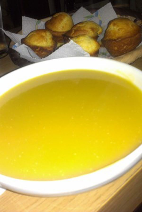 """Butternut Squash and Leek Soup recipe   """"Recipes Around the World ..."""