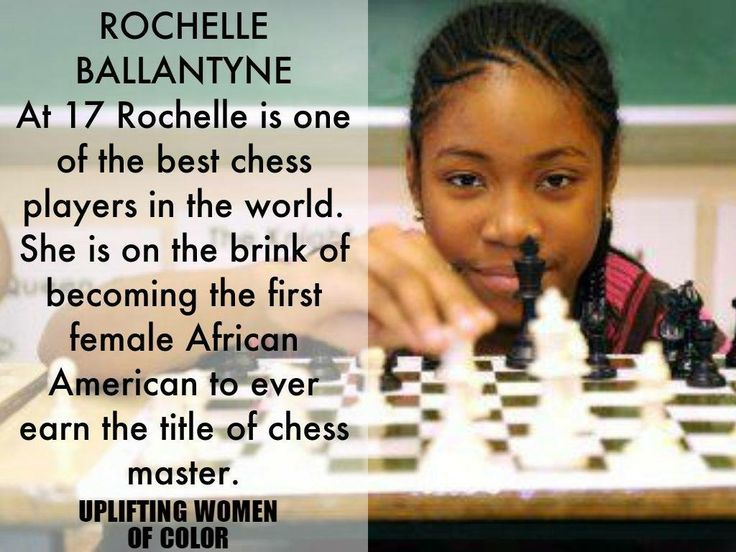 At 17 Rochelle Ballantyne is one of the best chess players in the world