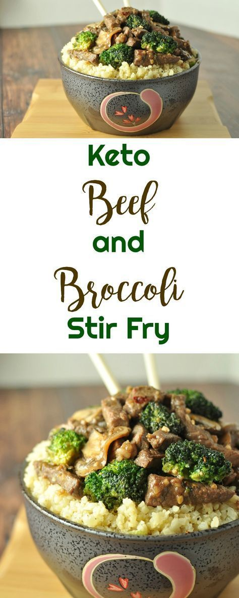 Keto Beef und Broccoli Stir Fry #broccoli