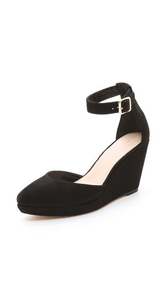 Loeffler Randall Jules Low Wedge Pumps.  I had a pair just like these in 1972!